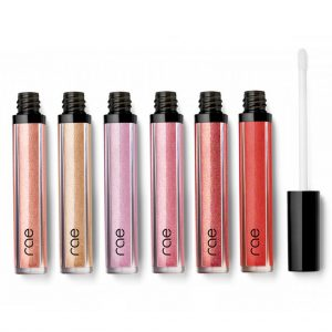 shimmery gloss with collagen filled micro-spheres plump and hydrate lips